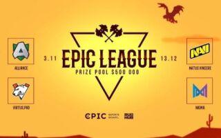 EPIC League будет освещаться на украинском языке | Dota 2