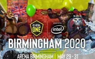 Evil Geniuses получила приглашение на ESL One Birmingham 2020 | Dota 2