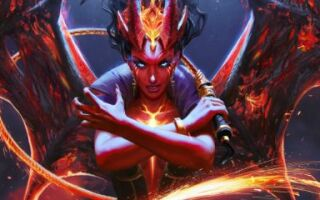 Аркана для Queen of Pain добавлена в Dota 2