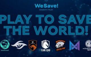 WePlay! проведет благотворительный онлайн-турнир с Virtus.pro, Secret и Nigma | Dota 2