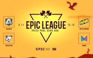 Анонсирована новая Epic League. На ней сыграют Virtus.pro, Natus Vincere и Team Secret | Dota 2