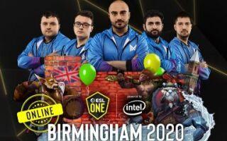 Nigma выступит на ESL One Birmingham 2020 Online | Dota 2